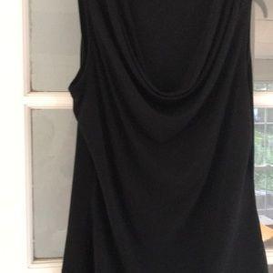 Ladies black blouse size medium Calvin Klein